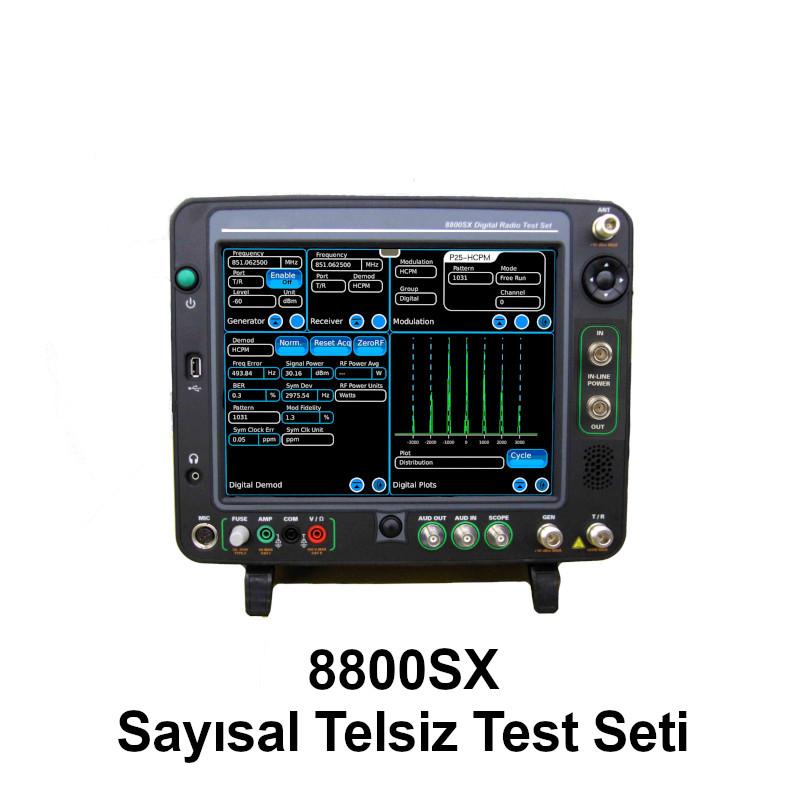 8800SX Sayısal Telsiz Test Seti