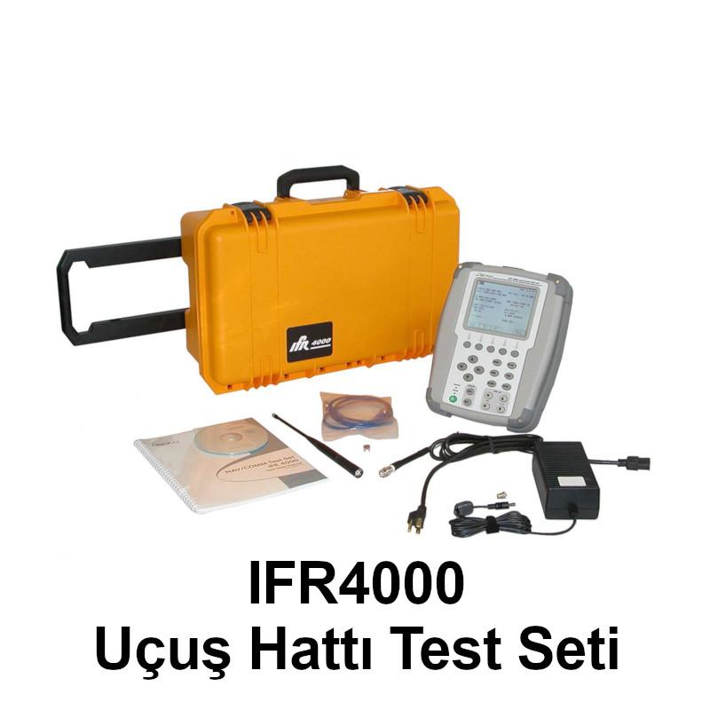 IFR 4000 – Navigasyon/Haberleşme Uçuş Hattı Test Seti