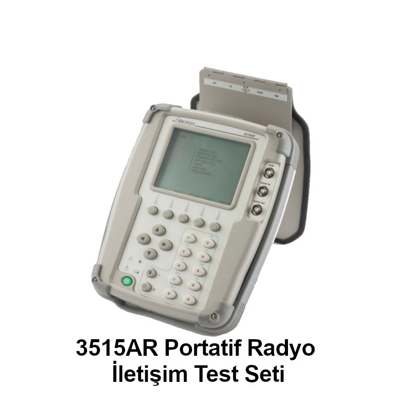 3515AR Portatif Radyo İletişim Test Seti